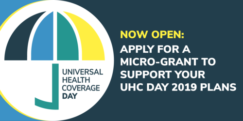 UHC Day 2019 Micro-Grant Online Application