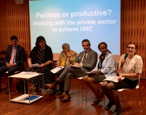 Perilous or productive – engaging the private sector for UHC