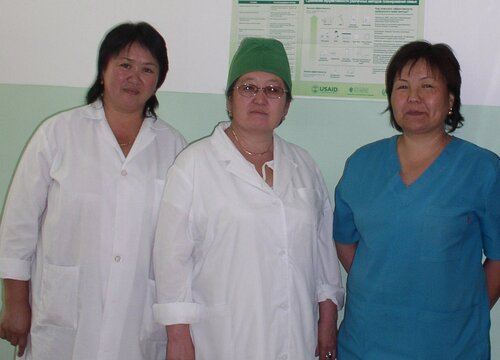 Kyrgyzstan government and partners agree a joint statement on health sector coordination