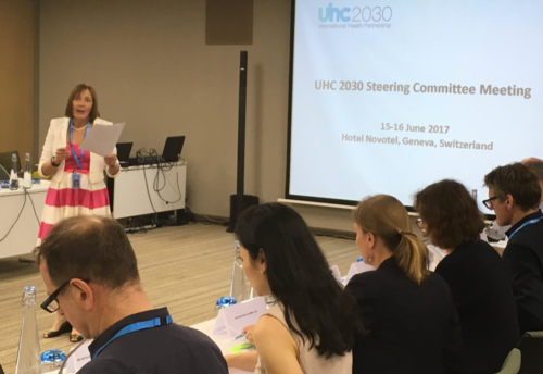 First UHC2030 Steering Committee Meeting