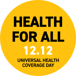 The UN recognises Universal Health Coverage Day