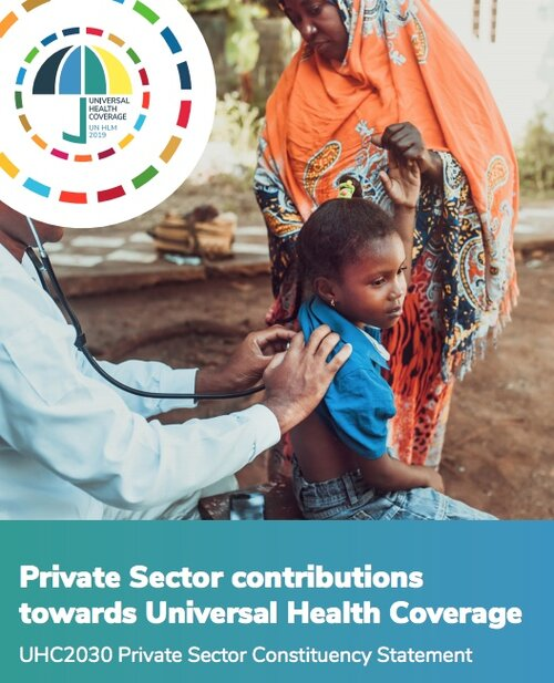 Engaging the private health sector for Universal Health Coverage